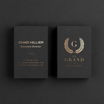 The Grand at Holladay Business Cards
